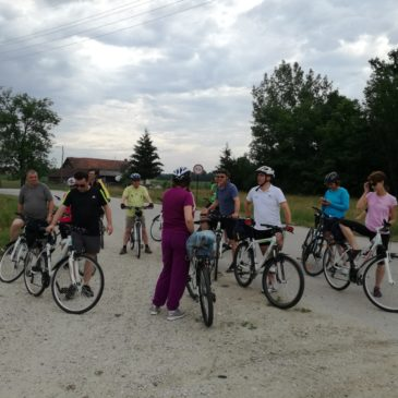 V sedlu kolesa po Lendavi z okolico